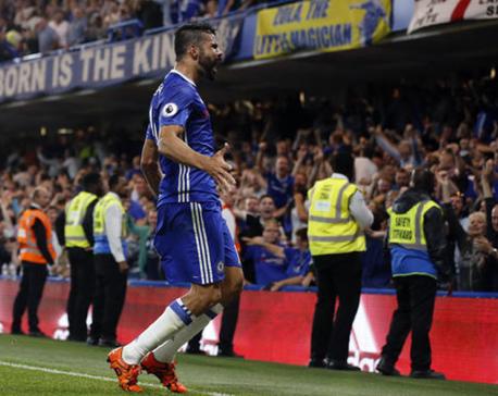 Costa steers Chelsea to winning start vs West Ham