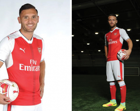 Arsenal signs Perez, Mustafi, and Hart set for Man City exit