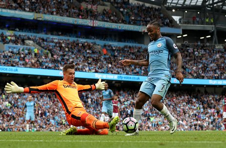 City beats West Ham 3-1 to keep pace with United, Chelsea