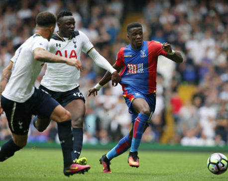 Wanyama strikes late to secure Tottenham win vs Palace