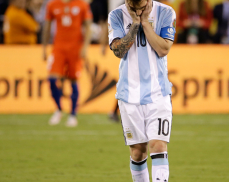 Fans, president, Maradona want Messi to reconsider