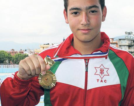 Swimmer Kiran sets new national record