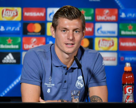 Toni Kroos' contract with Real Madrid extended until 2022