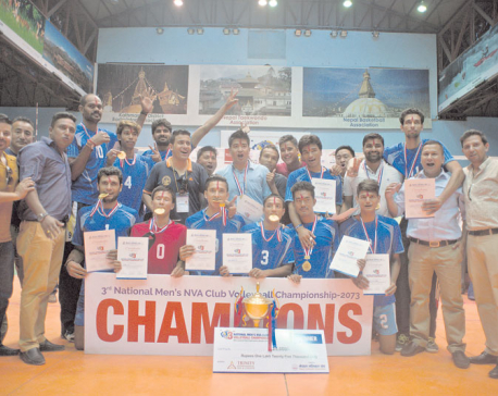 Help Nepal, New Diamond: NVA Cup champions