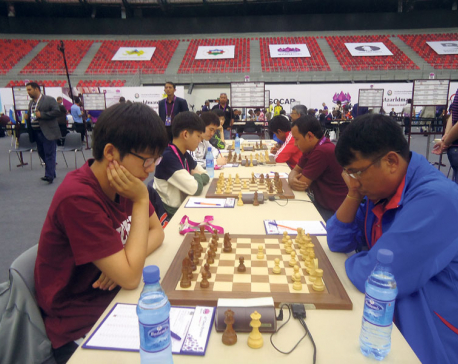 Mixed results for Nepal in Olympiad