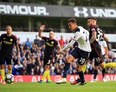 Spurs end Guardiola's perfect EPL start as citizens crumbles
