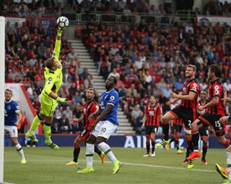 Bournemouth end Everton's unbeaten start in EPL