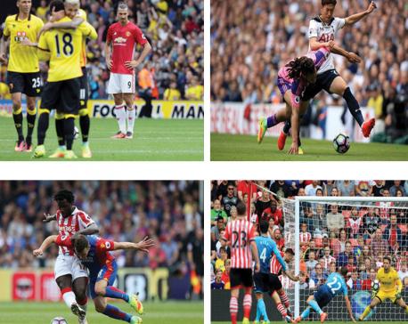 Mourinho feels pressure while Spurs, Palace & Southampton triumph