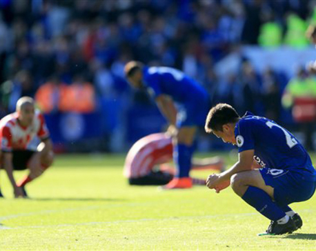 Leicester shares point against Southampton, as honors even at The King Power