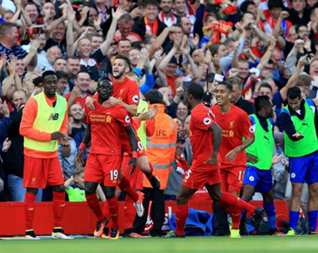 Liverpool deepen Leicester woes in 4-1 win in EPL