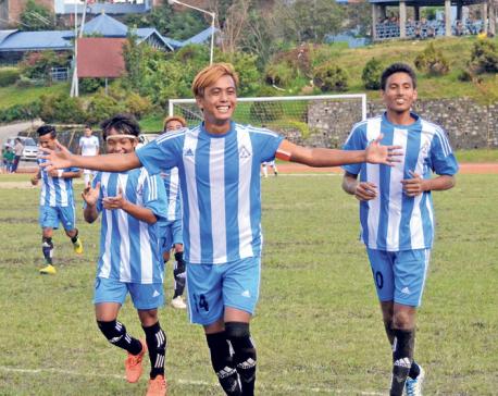 Mahabir registers first league win
