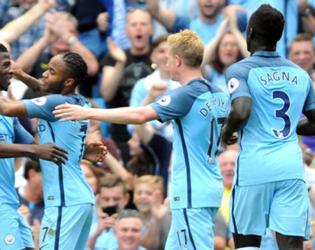 Man City thrashes Bournemouth, makes their fifth straight EPL win