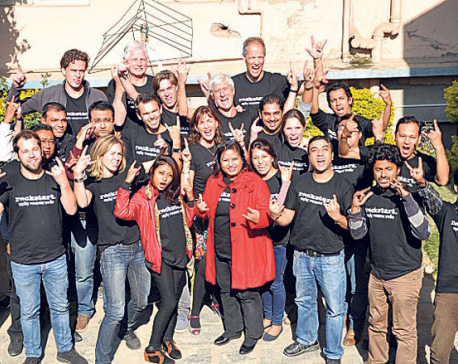 Introducing Nepali startups to foreign investors