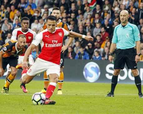 Arsenal silence Hull as Sanchez scores twice