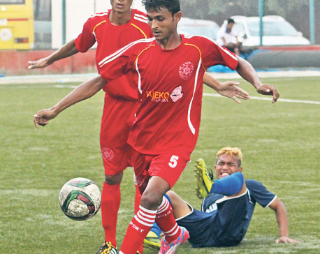 Shree Kumari climbs atop league table