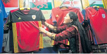 Euro jersey craze grips Kathmandu