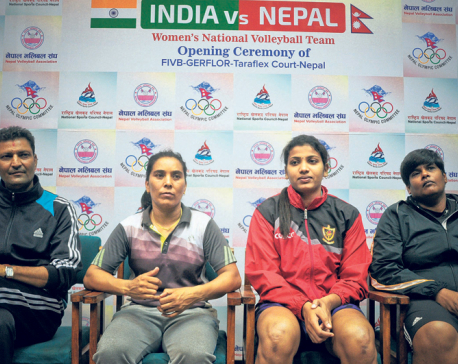 Giant India expects tough competition from Nepal