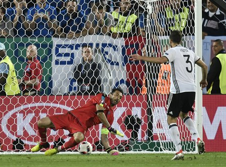 Germany's dramatic win vs. Italy in shootout; advance into semis