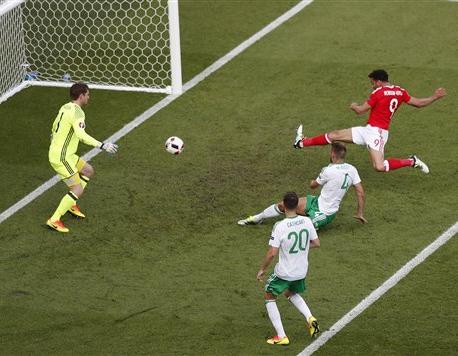 Wales progress into quarterfinals at Euro 2016