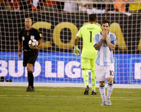 Lionel Messi to quit Argentina national soccer team