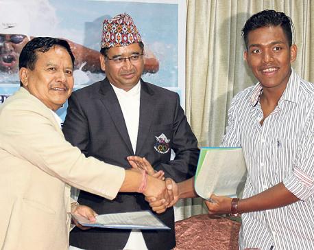 Sirish Gurung is Bhat Bhateni's brand ambassador
