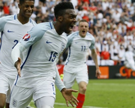 England beats Wales 2-1 at Euro 2016