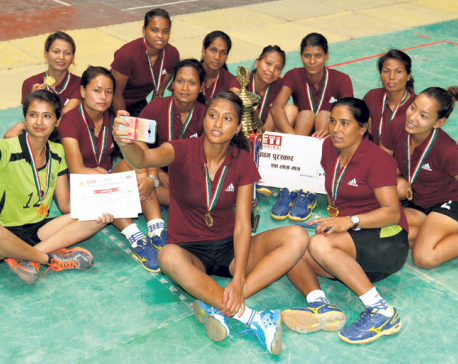 APF eves humiliate Police to lift volleyball title