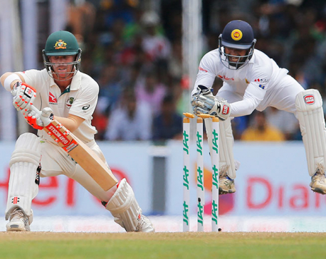 Australia 77-1 at lunch chasing 324 to win on final day