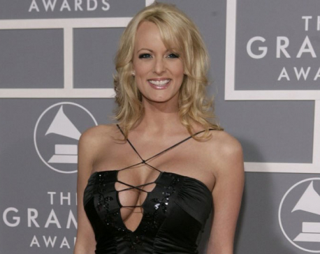 Porn star says she feels free to discuss Trump encounter