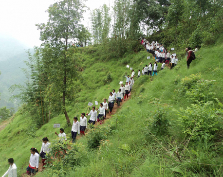 Number of girls exceeds boys in community schools of Khotang