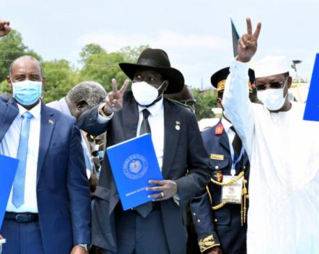 Sudan and main rebel groups formalise peace deal