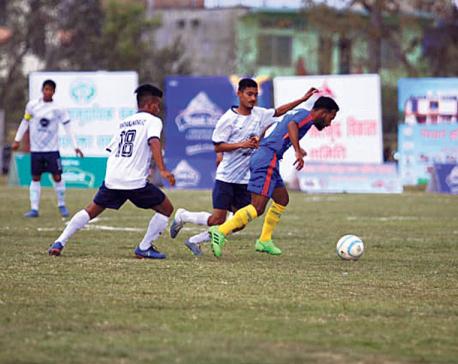 Sudur Paschim into Khaptad Gold Cup semis