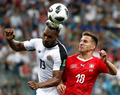 Swiss size up Sweden after thrilling draw
