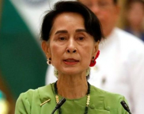 Myanmar's Suu Kyi 'looks healthy', lawyer says, as U.S. orders non-essential staff to leave
