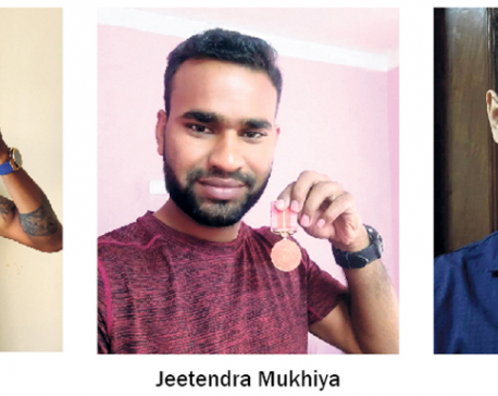 Cricketers receive medals four years after announcement