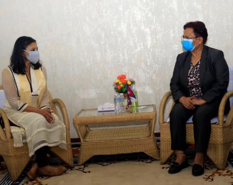 MCC Vice President Sumar calls on Energy Minister Bhusal