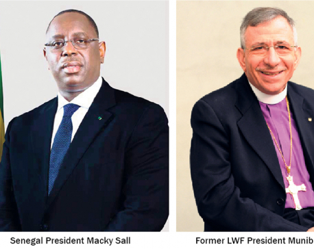 Senegal Prez Macky Sall, former LWF Prez Younan named Sunhak Peace Prize Laureates 2020