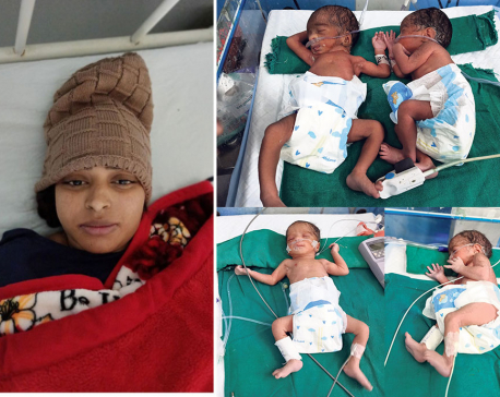 Quadruplets born in Pokhara