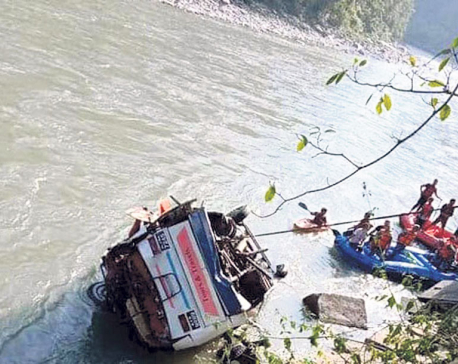 17 killed, 50 injured in Sindhupalchowk bus accident