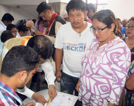 Men outnumber women candidates in Sunsari