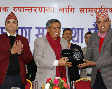 Information and Communications Minister Karki seeks shift in media focus