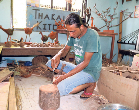 Handicraft becomes a good source of livelihood