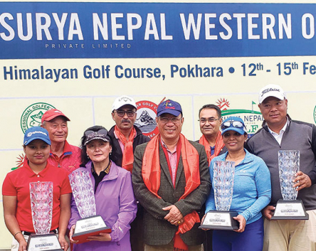 Shivaram and team win Pro-Am title