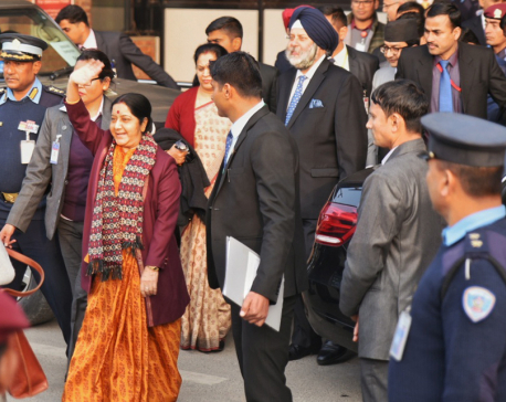 Swaraj's visit will help forward Pancheshwor Project