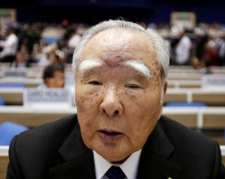 Suzuki Motor says 91-year-old chairman to retire