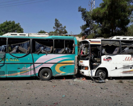 Car bombs rock Syrian capital, killing 8