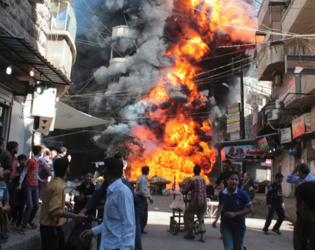 Syria marks 7 years of war: rebel-held enclave under assault