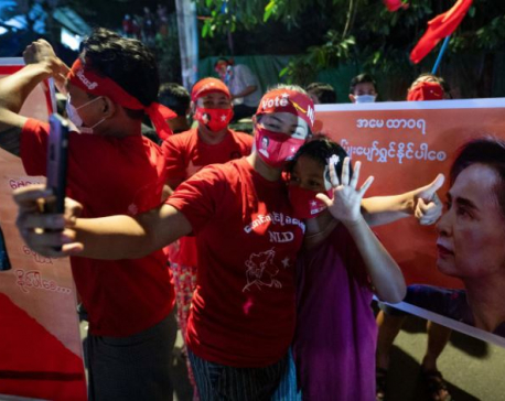 Suu Kyi party wins enough seats to form Myanmar's next government