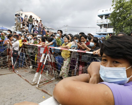 Joy and scepticism as Myanmar frees hundreds held since coup