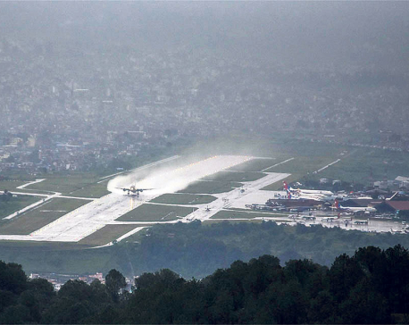 TIA runway rehabilitation completed 128 days ahead of schedule